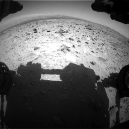 Nasa's Mars rover Curiosity acquired this image using its Front Hazard Avoidance Camera (Front Hazcam) on Sol 431, at drive 496, site number 20