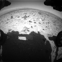 Nasa's Mars rover Curiosity acquired this image using its Front Hazard Avoidance Camera (Front Hazcam) on Sol 431, at drive 502, site number 20