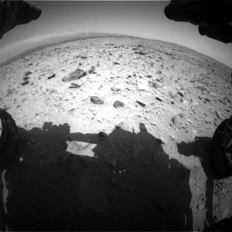 Nasa's Mars rover Curiosity acquired this image using its Front Hazard Avoidance Camera (Front Hazcam) on Sol 431, at drive 508, site number 20