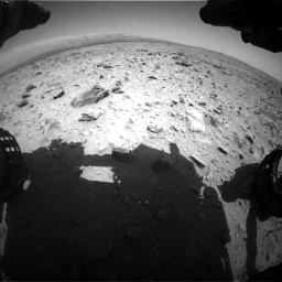 Nasa's Mars rover Curiosity acquired this image using its Front Hazard Avoidance Camera (Front Hazcam) on Sol 431, at drive 514, site number 20