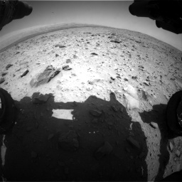 Nasa's Mars rover Curiosity acquired this image using its Front Hazard Avoidance Camera (Front Hazcam) on Sol 431, at drive 520, site number 20