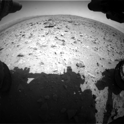 Nasa's Mars rover Curiosity acquired this image using its Front Hazard Avoidance Camera (Front Hazcam) on Sol 431, at drive 538, site number 20