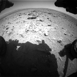Nasa's Mars rover Curiosity acquired this image using its Front Hazard Avoidance Camera (Front Hazcam) on Sol 431, at drive 556, site number 20