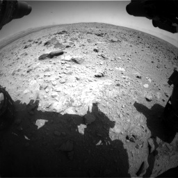 Nasa's Mars rover Curiosity acquired this image using its Front Hazard Avoidance Camera (Front Hazcam) on Sol 431, at drive 562, site number 20