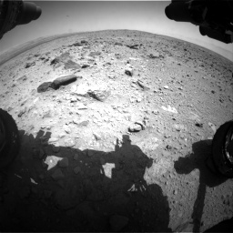 Nasa's Mars rover Curiosity acquired this image using its Front Hazard Avoidance Camera (Front Hazcam) on Sol 431, at drive 568, site number 20
