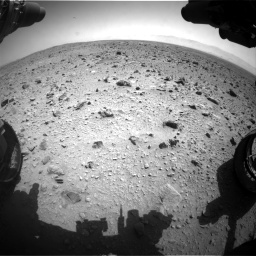 Nasa's Mars rover Curiosity acquired this image using its Front Hazard Avoidance Camera (Front Hazcam) on Sol 431, at drive 616, site number 20