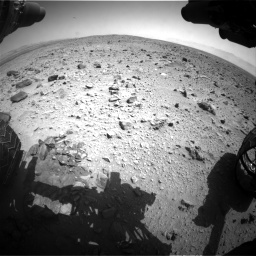 Nasa's Mars rover Curiosity acquired this image using its Front Hazard Avoidance Camera (Front Hazcam) on Sol 431, at drive 622, site number 20