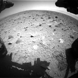 Nasa's Mars rover Curiosity acquired this image using its Front Hazard Avoidance Camera (Front Hazcam) on Sol 431, at drive 652, site number 20