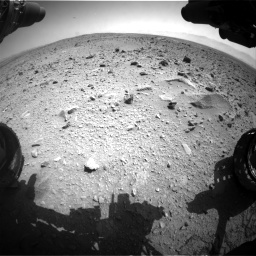 Nasa's Mars rover Curiosity acquired this image using its Front Hazard Avoidance Camera (Front Hazcam) on Sol 431, at drive 658, site number 20