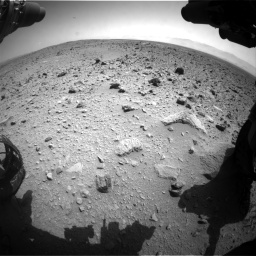 Nasa's Mars rover Curiosity acquired this image using its Front Hazard Avoidance Camera (Front Hazcam) on Sol 431, at drive 670, site number 20