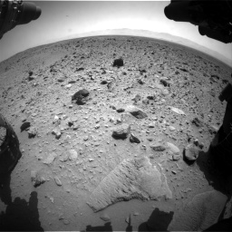 Nasa's Mars rover Curiosity acquired this image using its Front Hazard Avoidance Camera (Front Hazcam) on Sol 431, at drive 682, site number 20