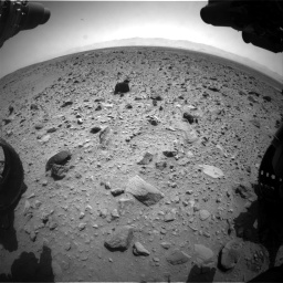 Nasa's Mars rover Curiosity acquired this image using its Front Hazard Avoidance Camera (Front Hazcam) on Sol 431, at drive 688, site number 20