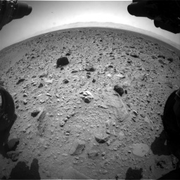 Nasa's Mars rover Curiosity acquired this image using its Front Hazard Avoidance Camera (Front Hazcam) on Sol 431, at drive 694, site number 20