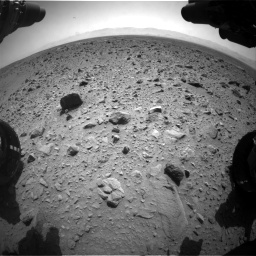 Nasa's Mars rover Curiosity acquired this image using its Front Hazard Avoidance Camera (Front Hazcam) on Sol 431, at drive 700, site number 20