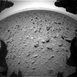 Nasa's Mars rover Curiosity acquired this image using its Front Hazard Avoidance Camera (Front Hazcam) on Sol 431, at drive 718, site number 20