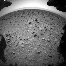 Nasa's Mars rover Curiosity acquired this image using its Front Hazard Avoidance Camera (Front Hazcam) on Sol 431, at drive 736, site number 20