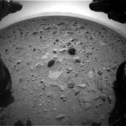 NASA's Mars rover Curiosity acquired this image using its Front Hazard Avoidance Cameras (Front Hazcams) on Sol 431