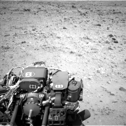Nasa's Mars rover Curiosity acquired this image using its Left Navigation Camera on Sol 431, at drive 454, site number 20