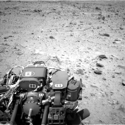 Nasa's Mars rover Curiosity acquired this image using its Left Navigation Camera on Sol 431, at drive 502, site number 20