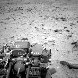 Nasa's Mars rover Curiosity acquired this image using its Left Navigation Camera on Sol 431, at drive 562, site number 20