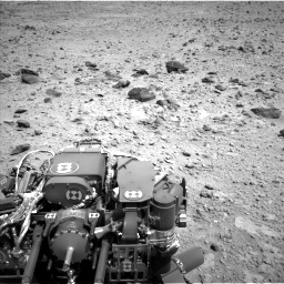 Nasa's Mars rover Curiosity acquired this image using its Left Navigation Camera on Sol 431, at drive 580, site number 20