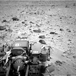 Nasa's Mars rover Curiosity acquired this image using its Left Navigation Camera on Sol 431, at drive 592, site number 20
