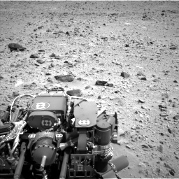 Nasa's Mars rover Curiosity acquired this image using its Left Navigation Camera on Sol 431, at drive 598, site number 20