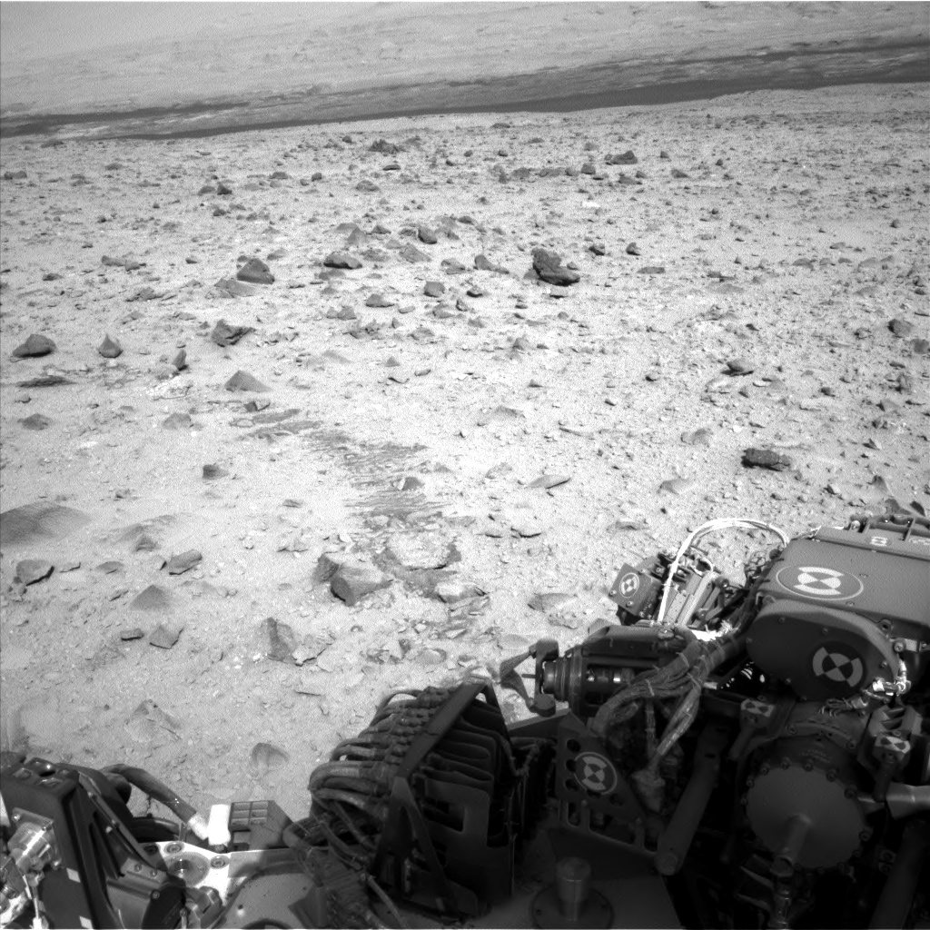 Nasa's Mars rover Curiosity acquired this image using its Left Navigation Camera on Sol 431, at drive 764, site number 20