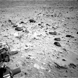 Nasa's Mars rover Curiosity acquired this image using its Right Navigation Camera on Sol 431, at drive 586, site number 20