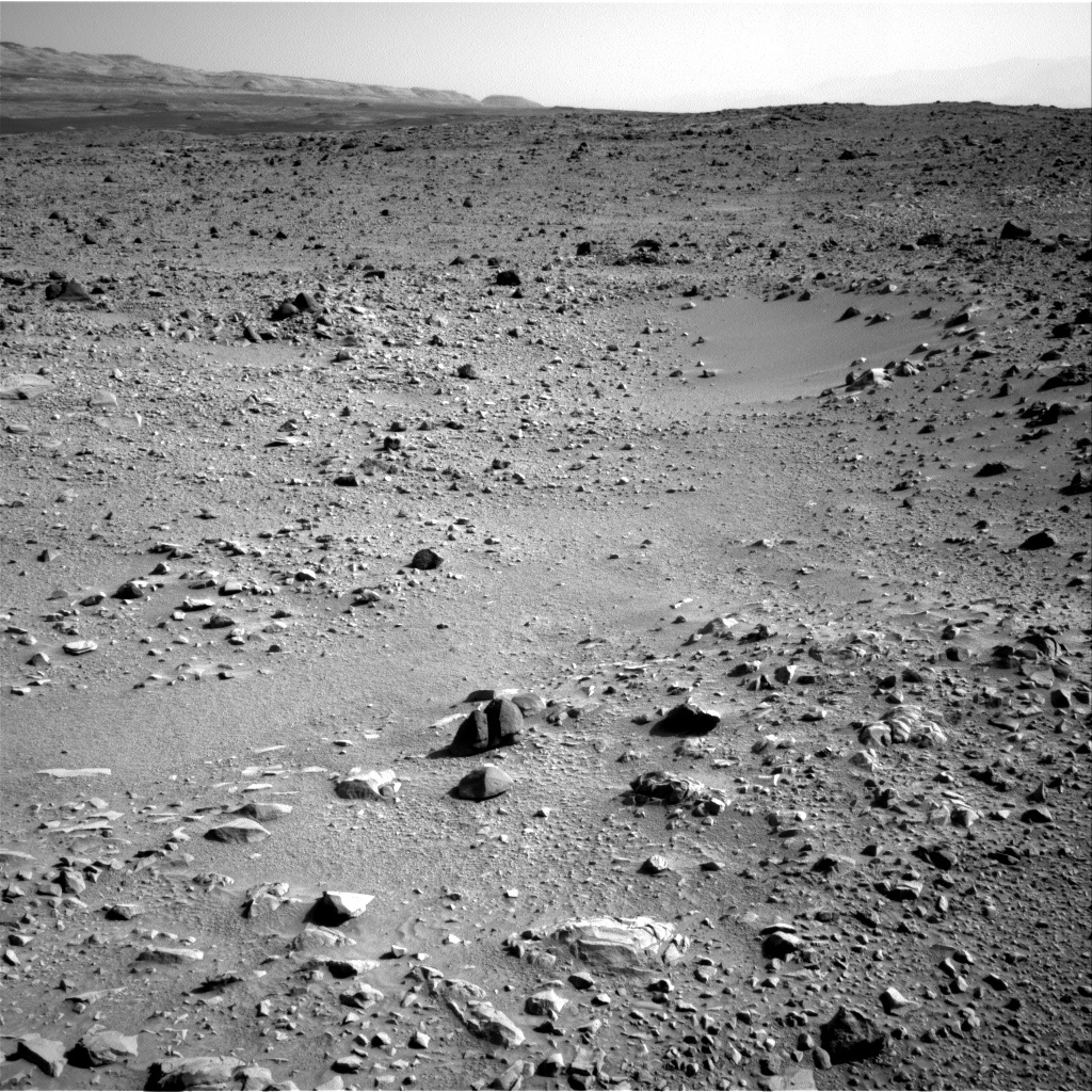 NASA's Mars rover Curiosity acquired this image using its Right Navigation Cameras (Navcams) on Sol 431