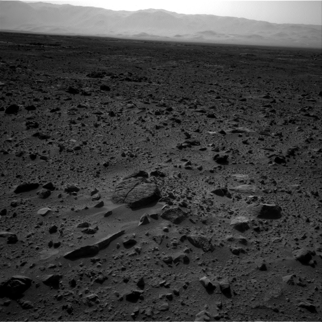 Nasa's Mars rover Curiosity acquired this image using its Right Navigation Camera on Sol 431, at drive 764, site number 20