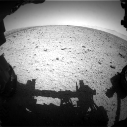 Nasa's Mars rover Curiosity acquired this image using its Front Hazard Avoidance Camera (Front Hazcam) on Sol 433, at drive 1172, site number 20