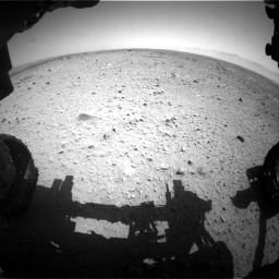 NASA's Mars rover Curiosity acquired this image using its Front Hazard Avoidance Cameras (Front Hazcams) on Sol 433