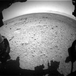 Nasa's Mars rover Curiosity acquired this image using its Front Hazard Avoidance Camera (Front Hazcam) on Sol 433, at drive 1298, site number 20