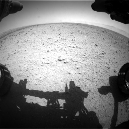Nasa's Mars rover Curiosity acquired this image using its Front Hazard Avoidance Camera (Front Hazcam) on Sol 433, at drive 1196, site number 20