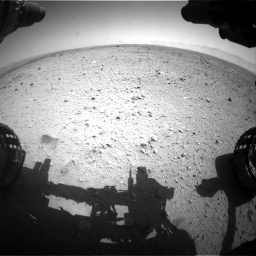 Nasa's Mars rover Curiosity acquired this image using its Front Hazard Avoidance Camera (Front Hazcam) on Sol 433, at drive 1214, site number 20