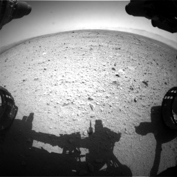Nasa's Mars rover Curiosity acquired this image using its Front Hazard Avoidance Camera (Front Hazcam) on Sol 433, at drive 1232, site number 20