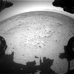 Nasa's Mars rover Curiosity acquired this image using its Front Hazard Avoidance Camera (Front Hazcam) on Sol 433, at drive 1280, site number 20