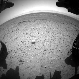 Nasa's Mars rover Curiosity acquired this image using its Front Hazard Avoidance Camera (Front Hazcam) on Sol 433, at drive 1316, site number 20