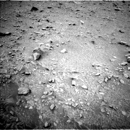 NASA's Mars rover Curiosity acquired this image using its Left Navigation Camera (Navcams) on Sol 433