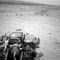 Nasa's Mars rover Curiosity acquired this image using its Left Navigation Camera on Sol 433, at drive 1262, site number 20