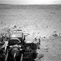 Nasa's Mars rover Curiosity acquired this image using its Left Navigation Camera on Sol 433, at drive 1316, site number 20