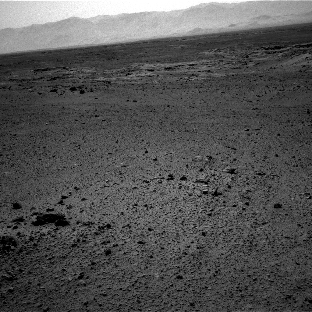 Nasa's Mars rover Curiosity acquired this image using its Left Navigation Camera on Sol 433, at drive 0, site number 21