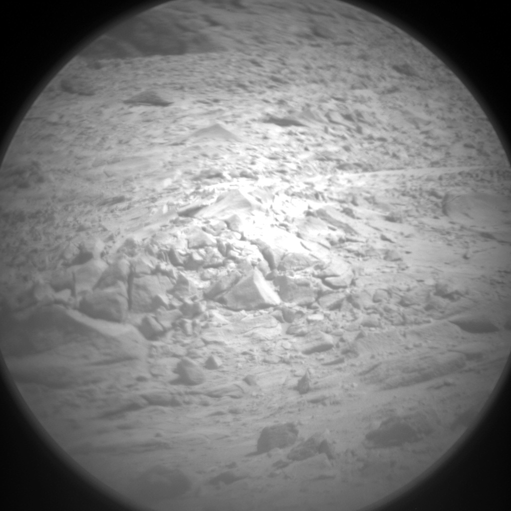 NASA's Mars rover Curiosity acquired this image using its Chemistry & Camera (ChemCam) on Sol 435