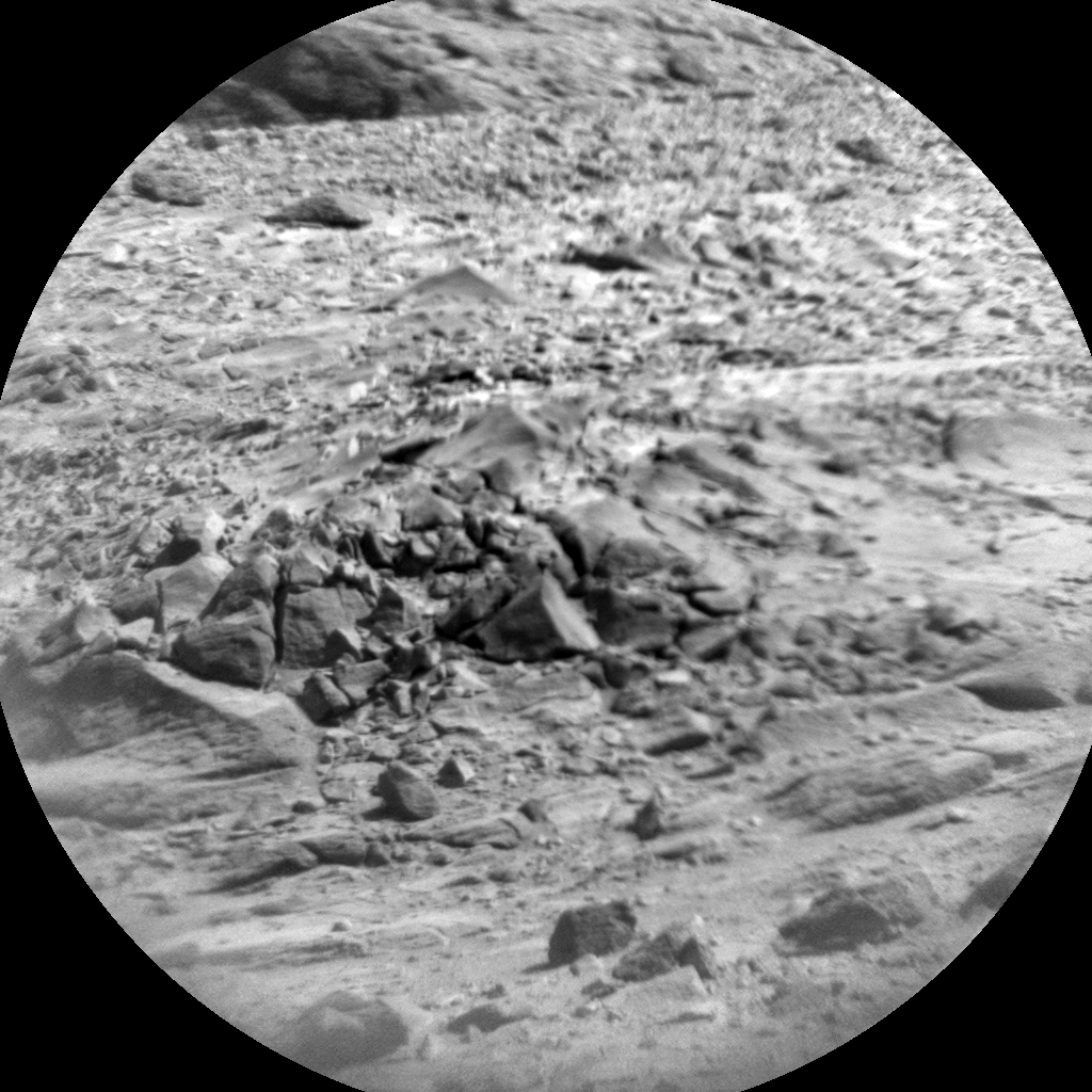 Nasa's Mars rover Curiosity acquired this image using its Chemistry & Camera (ChemCam) on Sol 435, at drive 0, site number 21