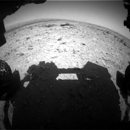 Nasa's Mars rover Curiosity acquired this image using its Front Hazard Avoidance Camera (Front Hazcam) on Sol 436, at drive 198, site number 21