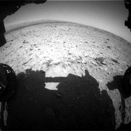 Nasa's Mars rover Curiosity acquired this image using its Front Hazard Avoidance Camera (Front Hazcam) on Sol 436, at drive 360, site number 21