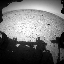 NASA's Mars rover Curiosity acquired this image using its Front Hazard Avoidance Cameras (Front Hazcams) on Sol 436