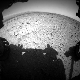 Nasa's Mars rover Curiosity acquired this image using its Front Hazard Avoidance Camera (Front Hazcam) on Sol 436, at drive 510, site number 21
