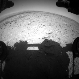 Nasa's Mars rover Curiosity acquired this image using its Front Hazard Avoidance Camera (Front Hazcam) on Sol 436, at drive 264, site number 21